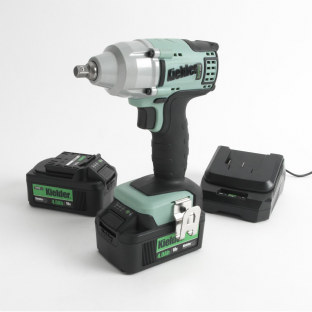 "Kielder KWT-002-19 3/8"" Drive 230Nm Brushless Impact Wrench With 2 4Ah Batteries"